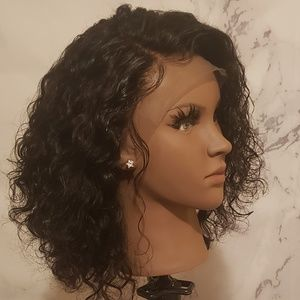 10 Inch Curly Lace Front Wig